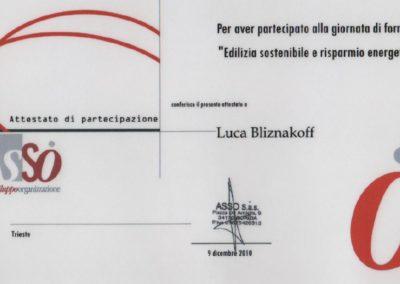 ASSO edilizia sostenibile Luca Bliznakoff