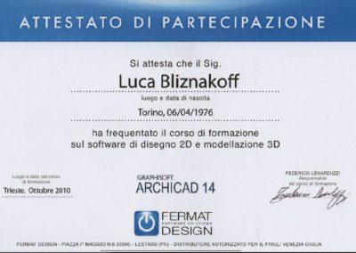 Archicad 14 Luca Bliznakoff