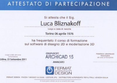 Archicad 15 Luca Bliznakoff