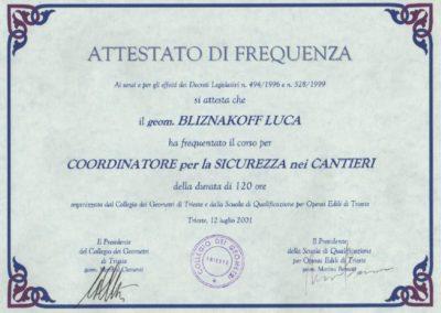 Collegio geometri Trieste Sicurezza nei cantieri Luca Bliznakoff