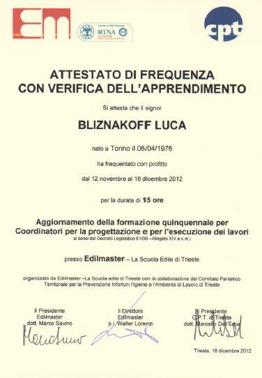 Edilmaster-Luca Bliznakoff