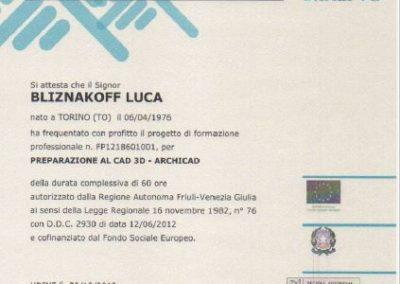 Ial cad 3d archicad Luca Bliznakoff