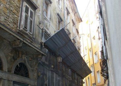 Restauro palazzo storico Trieste