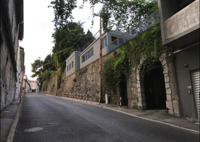 fotoinserimento progetto villa via Commerciale Blizstudio Trieste