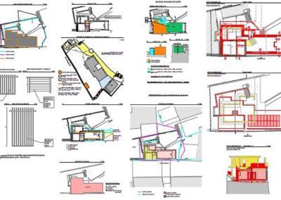 progettazione villa via Commerciale Trieste Blizstudio