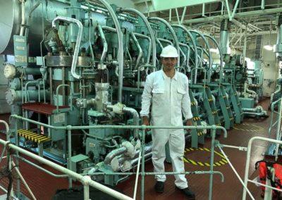 Rilievi 3d Laser Scanner sala macchine nave da trasporto Luca Bliznakoff