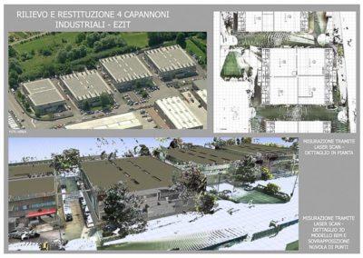 Rilievi Laser Scan area industriale Trieste - BlizStudio