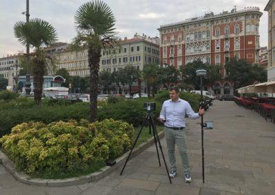 Rilievi Laser Scanner 3d Trieste geom. Luca Bliznakoff