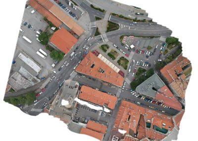 Rilievo Laser Scan e drone palazzo storico Trieste - vista ortogonale by BlizStudio