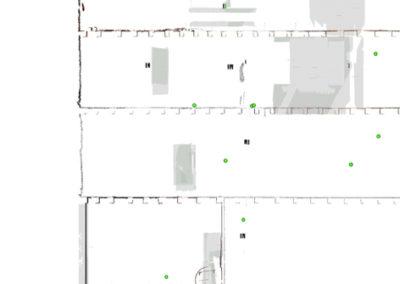 ortofoto rilievo laser scanner 3d edificio via delle Beccherie Trieste BlizStudio