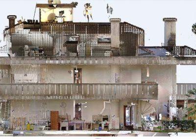 Rilievi Laser Scanner 3d Villa a Bibione BlizStudio